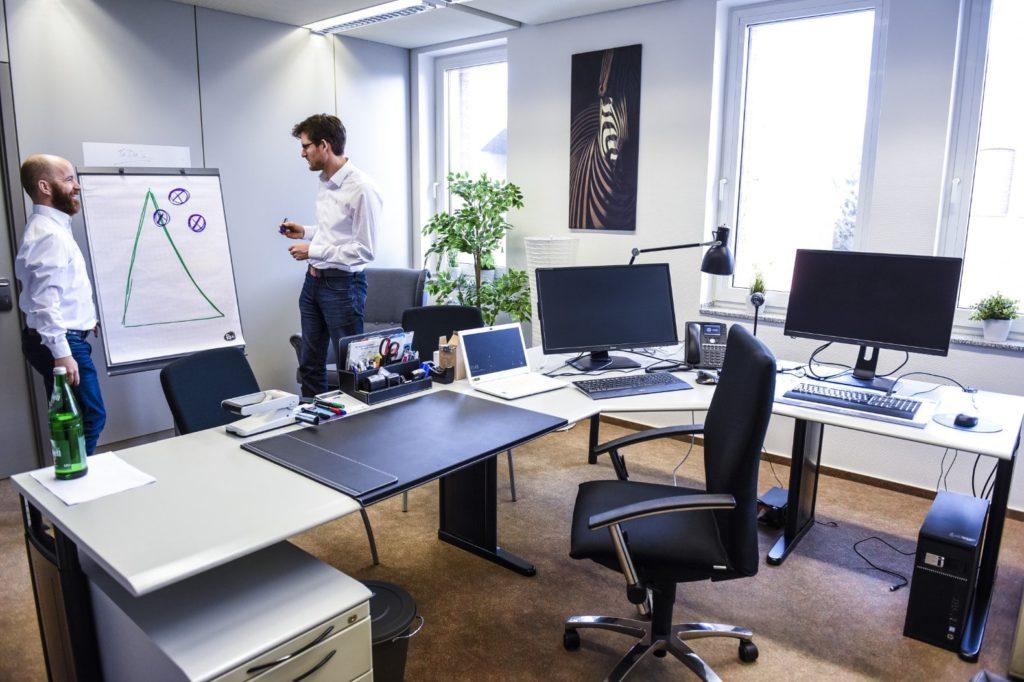 Vollausgestatte Büroräume